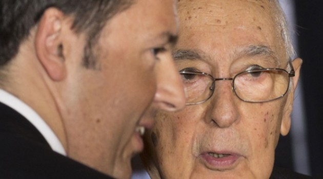 Per il dopo Napolitano la vera partita è tra Palazzo Chigi dominus e il sistema presidenziale