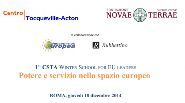Winter School Potere e Servizio nello spazio europeo – Panel Economia e Società