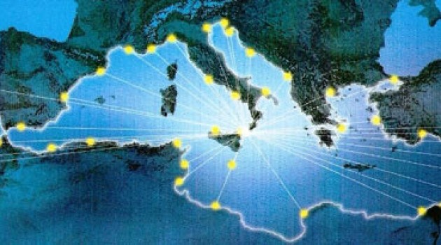 La  strategia dell'Unione Europea nell'area del Mediterraneo