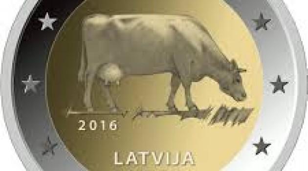 Lettonia: Nuova faccia nazionale delle monete in euro