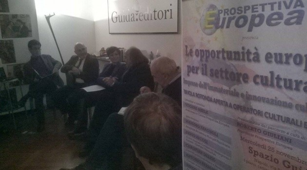 Tavola rotonda sulle opportunità del settore culturale in Campania