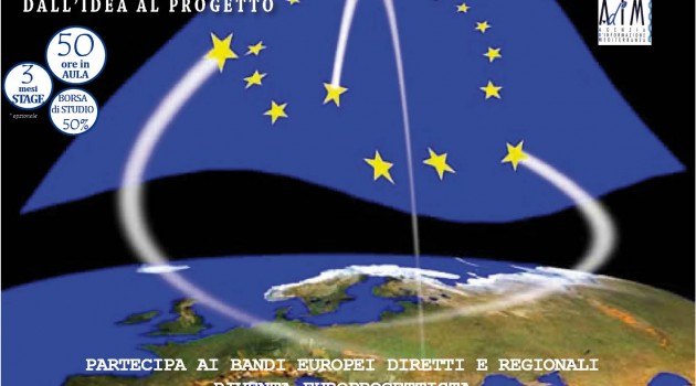 Corso di europrogettazione esecutiva con stage e laboratorio su bandi reali