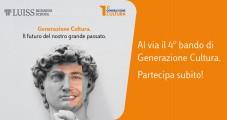 Generazione Cultura: bando per la formazione di 50 giovani nei beni culturali