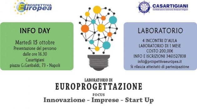 Giornata informativa per le pmi e lancio del laboratorio di Europrogettazione di Prospettiva Europea e Casartigiani