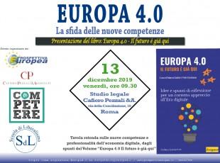 Europa 4.0: la sfida delle nuove competenze
