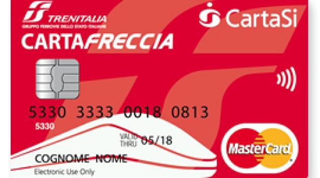 CartaFRECCIA cambia pelle e diventa anche carta di pagamento prepagata.