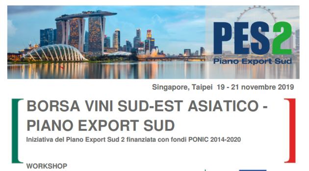 PES2 – Borsa Vini Sud est asiatico