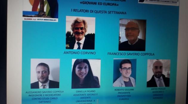 Nuove generazioni e identità europea